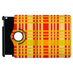 Check Pattern Apple iPad 2 Flip 360 Case Front