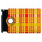 Check Pattern Apple iPad 3/4 Flip 360 Case Front