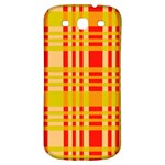 Check Pattern Samsung Galaxy S3 S III Classic Hardshell Back Case Front