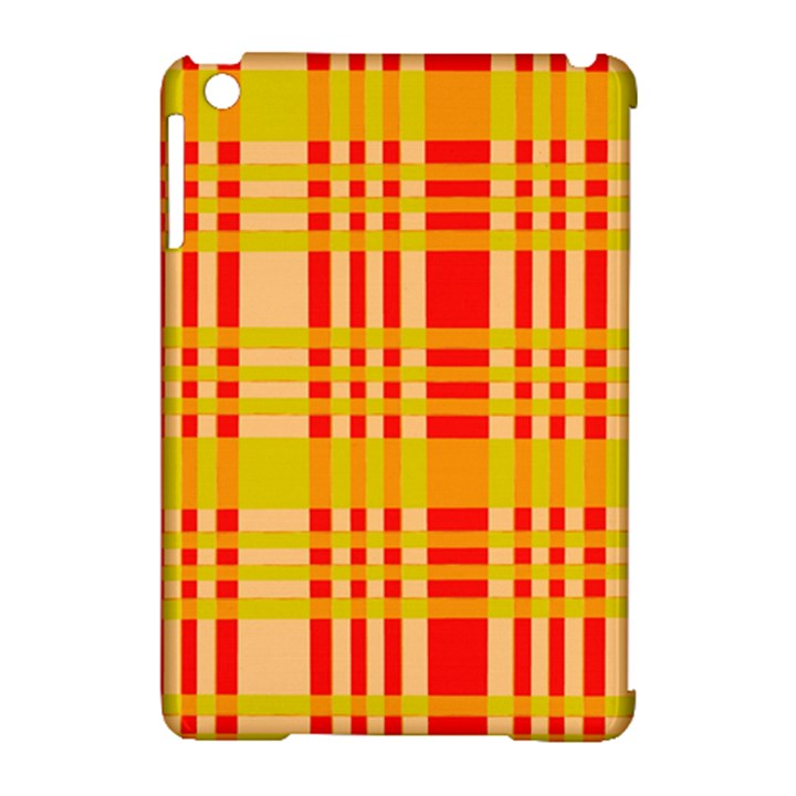 Check Pattern Apple iPad Mini Hardshell Case (Compatible with Smart Cover)