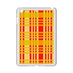 Check Pattern iPad Mini 2 Enamel Coated Cases Front