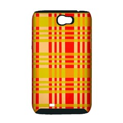 Check Pattern Samsung Galaxy Note 2 Hardshell Case (PC+Silicone)