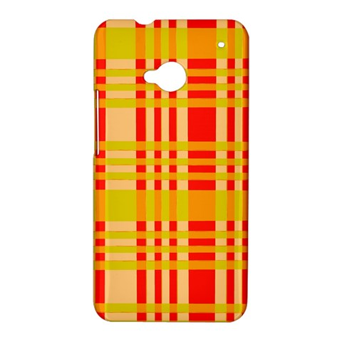 Check Pattern HTC One M7 Hardshell Case
