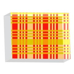 Check Pattern 5 x 7  Acrylic Photo Blocks