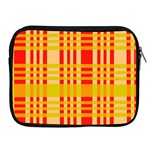 Check Pattern Apple iPad 2/3/4 Zipper Cases Front