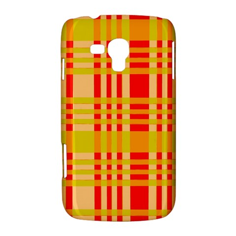 Check Pattern Samsung Galaxy Duos I8262 Hardshell Case