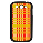 Check Pattern Samsung Galaxy Grand DUOS I9082 Case (Black) Front