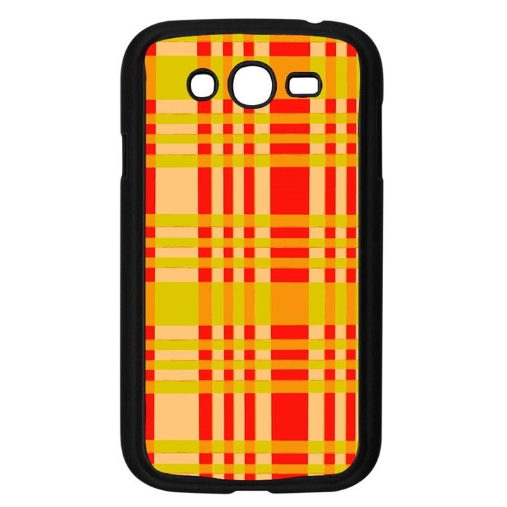 Check Pattern Samsung Galaxy Grand DUOS I9082 Case (Black)