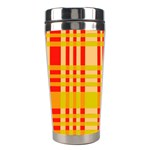 Check Pattern Stainless Steel Travel Tumblers Right