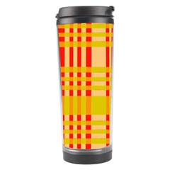 Check Pattern Travel Tumbler