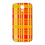 Check Pattern Samsung Galaxy S4 I9500/I9505  Hardshell Back Case Front