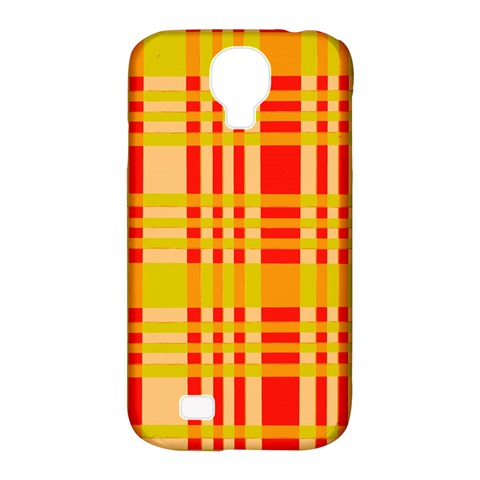 Check Pattern Samsung Galaxy S4 Classic Hardshell Case (PC+Silicone)