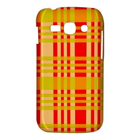 Check Pattern Samsung Galaxy Ace 3 S7272 Hardshell Case