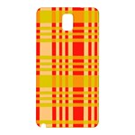 Check Pattern Samsung Galaxy Note 3 N9005 Hardshell Back Case Front