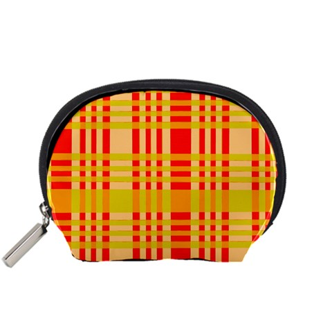 Check Pattern Accessory Pouches (Small)