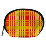 Check Pattern Accessory Pouches (Medium)  Front