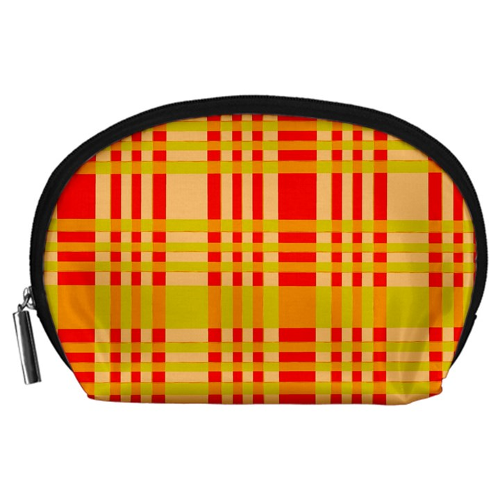 Check Pattern Accessory Pouches (Large)