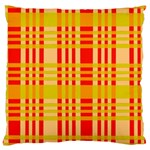 Check Pattern Standard Flano Cushion Case (Two Sides) Back