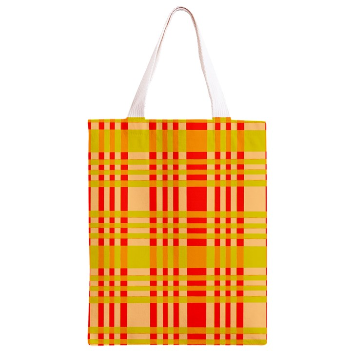 Check Pattern Classic Light Tote Bag