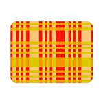 Check Pattern Double Sided Flano Blanket (Mini)  35 x27 Blanket Back