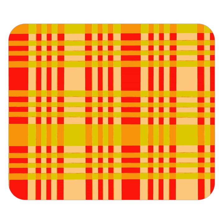 Check Pattern Double Sided Flano Blanket (Small)