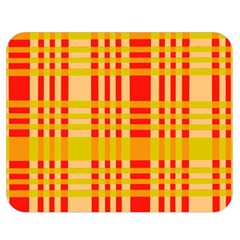 Check Pattern Double Sided Flano Blanket (Medium)