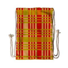 Check Pattern Drawstring Bag (Small)