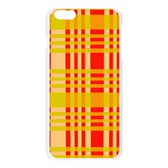 Check Pattern Apple Seamless iPhone 6 Plus/6S Plus Case (Transparent)