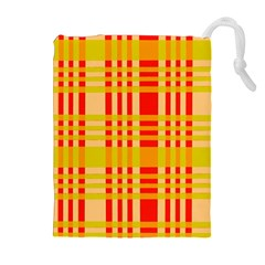 Check Pattern Drawstring Pouches (Extra Large)
