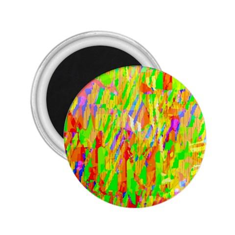 Cheerful Phantasmagoric Pattern 2.25  Magnets