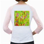 Cheerful Phantasmagoric Pattern Girly Raglans Back
