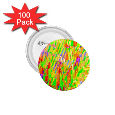 Cheerful Phantasmagoric Pattern 1.75  Buttons (100 pack)