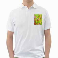 Cheerful Phantasmagoric Pattern Golf Shirts