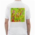 Cheerful Phantasmagoric Pattern Golf Shirts Back