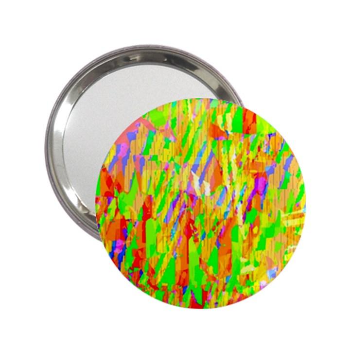Cheerful Phantasmagoric Pattern 2.25  Handbag Mirrors
