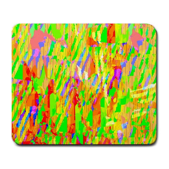 Cheerful Phantasmagoric Pattern Large Mousepads