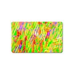 Cheerful Phantasmagoric Pattern Magnet (Name Card)