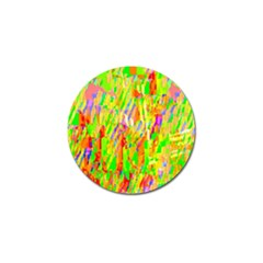 Cheerful Phantasmagoric Pattern Golf Ball Marker (4 pack)