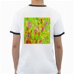 Cheerful Phantasmagoric Pattern Ringer T-Shirts Back