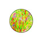 Cheerful Phantasmagoric Pattern Hat Clip Ball Marker Front
