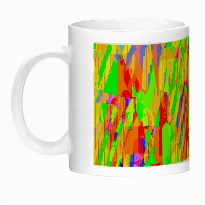 Cheerful Phantasmagoric Pattern Night Luminous Mugs