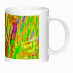 Cheerful Phantasmagoric Pattern Night Luminous Mugs Right
