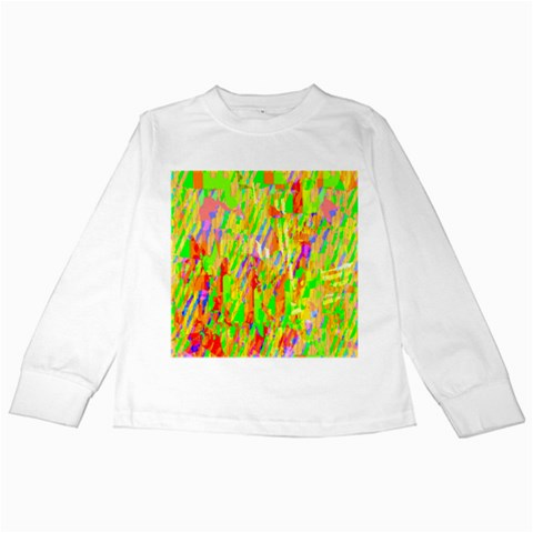 Cheerful Phantasmagoric Pattern Kids Long Sleeve T-Shirts