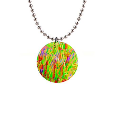 Cheerful Phantasmagoric Pattern Button Necklaces