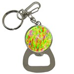 Cheerful Phantasmagoric Pattern Bottle Opener Key Chains Front