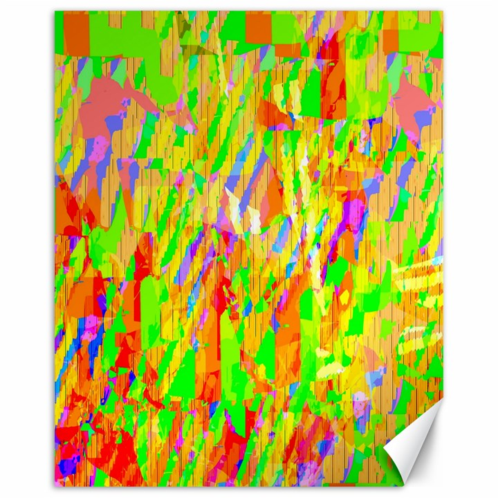 Cheerful Phantasmagoric Pattern Canvas 16  x 20
