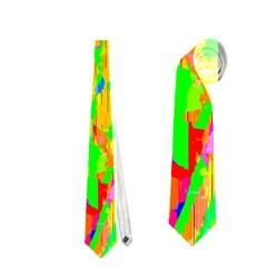 Cheerful Phantasmagoric Pattern Neckties (One Side)