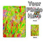 Cheerful Phantasmagoric Pattern Multi-purpose Cards (Rectangle)  Back 43