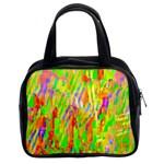 Cheerful Phantasmagoric Pattern Classic Handbags (2 Sides) Front
