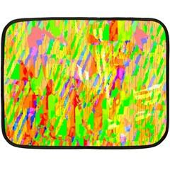 Cheerful Phantasmagoric Pattern Double Sided Fleece Blanket (Mini)